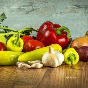 Hautbild verbessern Hautpflege Gute Vorsätze Gemüse Antioxidantien